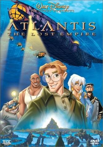 Legenden om atlantis disney