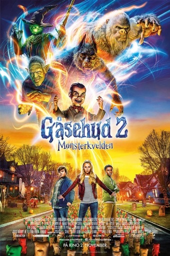 Gåsehud 2: Monsterkvelden (Blu ray) | Skvis.no